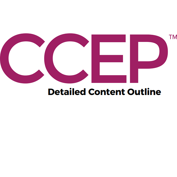 CCEP-Detailed Content Outline