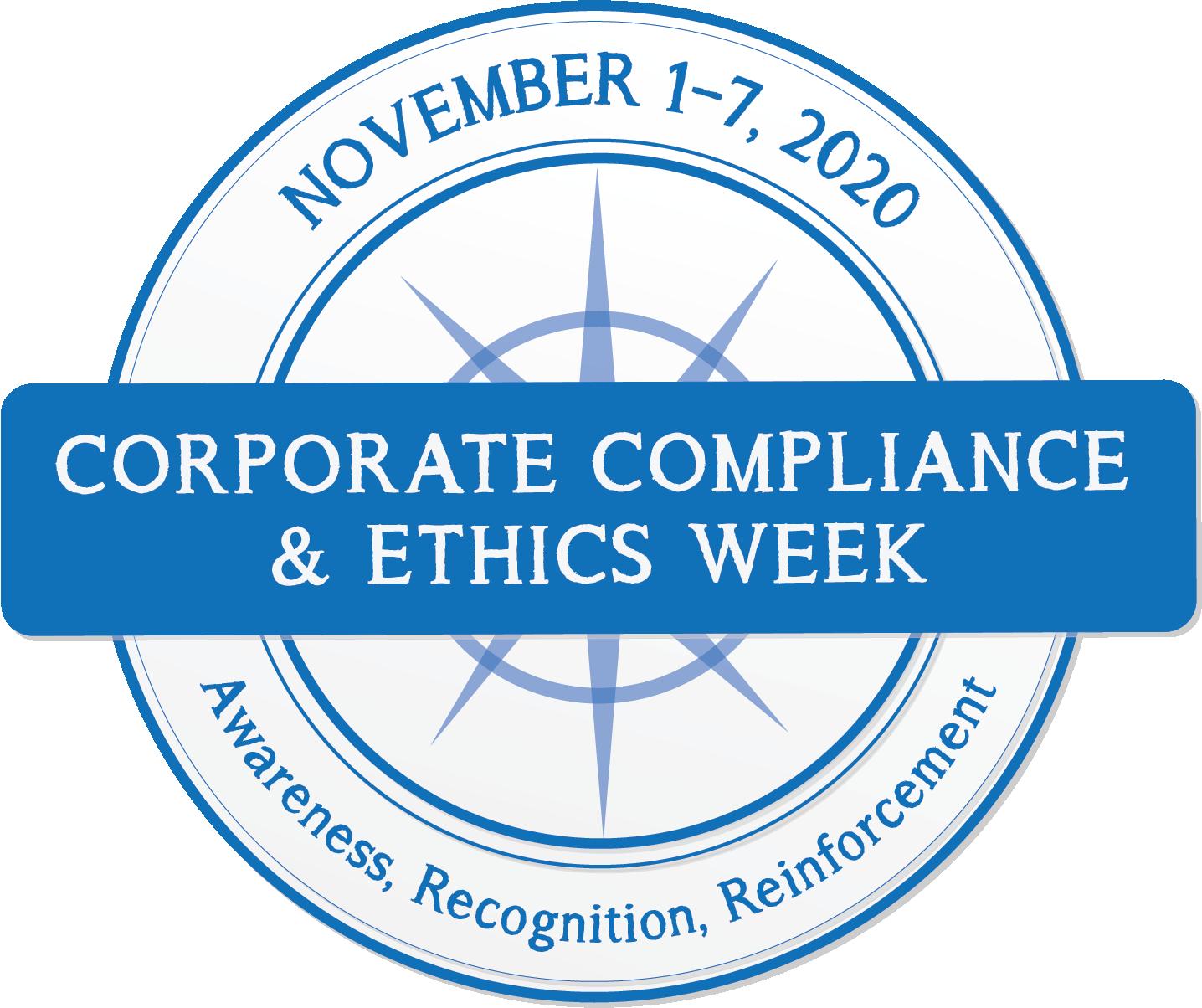 2020 Corporate Compliance & Ethics Week logo