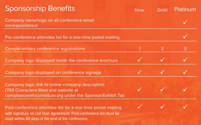 Sponsoring Benefits