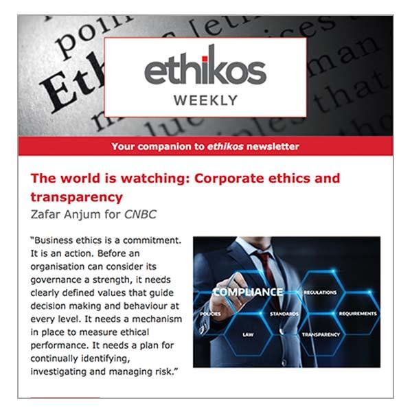 ethikos weekly