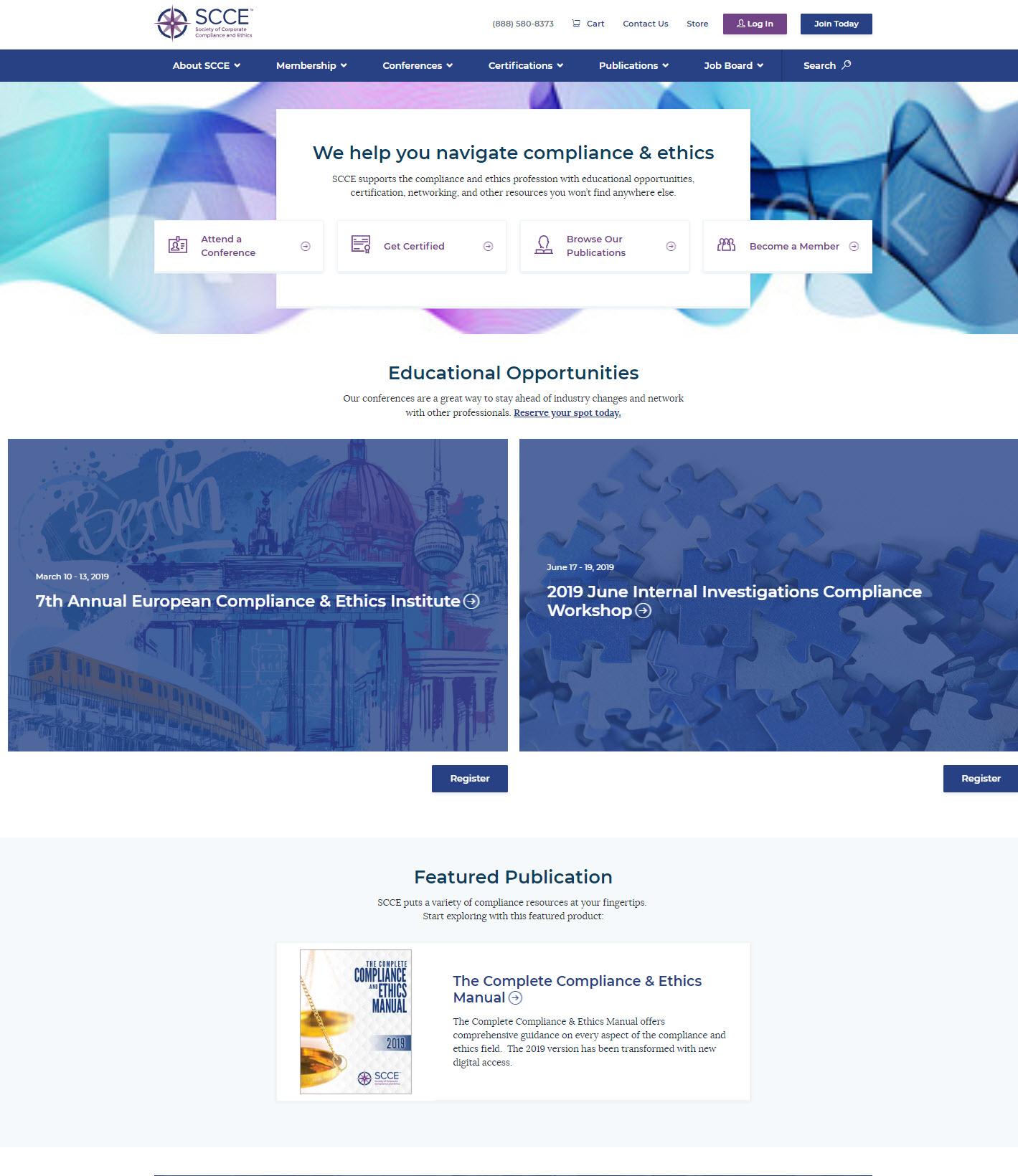 SCCE Website