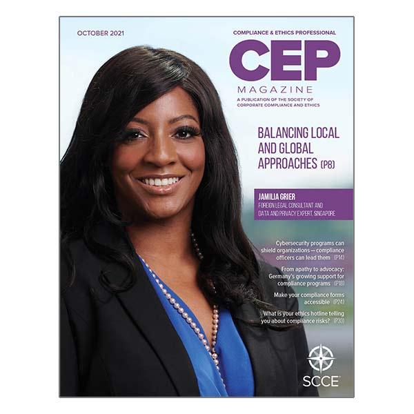 CEP October 2021