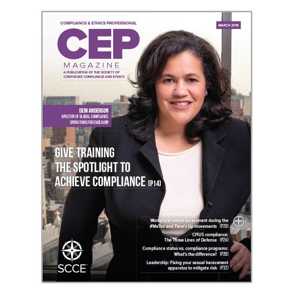 CEP March 2019 magazine