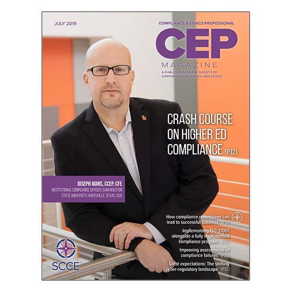 CEP Magazine July 2019 issue