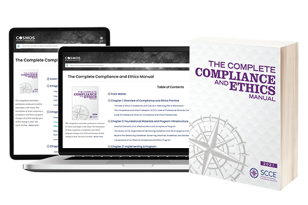 The Complete Compliance and Ethics Manual 2021 Softcover Book & One Year Online Subscription